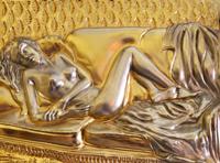 Accent Gold Woman Sculpture